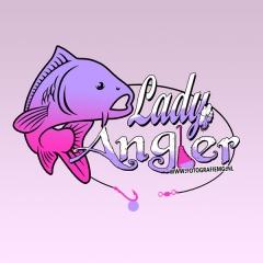Lady angler, design mg, carp